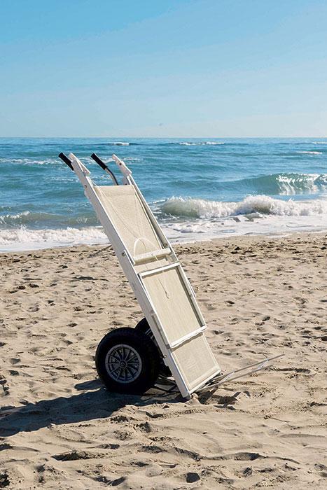 carrello spiaggia