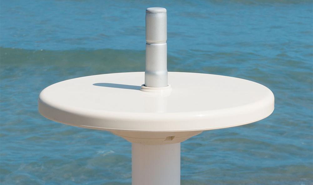 tavolinetto per ombrellone